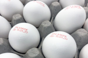 Coding and marking on eggs
