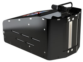 Large character, portable industrial inkjet printer