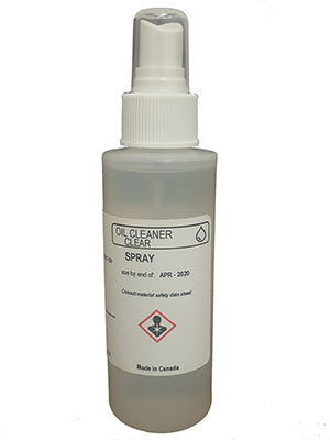 Oil Spray Cleaner