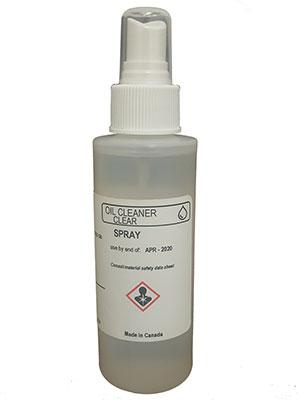 Oil Spray Cleaner
