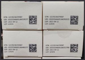 Pharmaceutical UID serialization aggregation