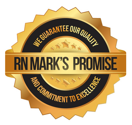 RN Mark product guarantee and service excellence
