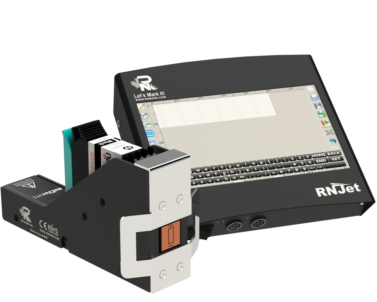 Thermal inkjet printer for product coding